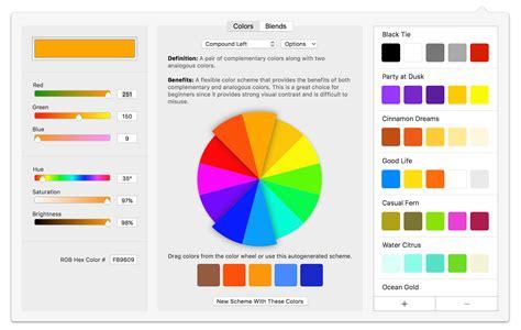 fresh color scheme wheel online 6283 fotofuse 2 chronos