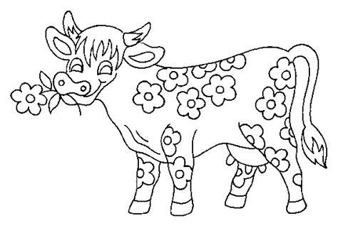Coloriage En Ligne La Vache