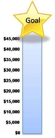Fundraising Charts Templates Fundraiser Goal Chart Clipart Best Clipart Best Goal Board Fundraising Goal Charts Goals