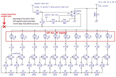 led diode array mosfet signal volume led array electrical engineering stack exchange