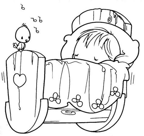 coloring pages sleeping baby sleeping baby precious moments coloring pages beetle