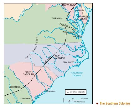 southern colonies map the colonies liz collins classroom website