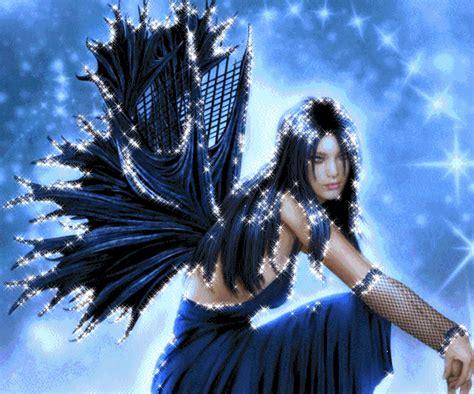 imagenes hadas blancas hada con vestido y alas de color negro imagen 3616