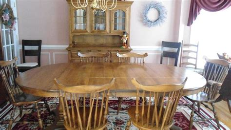 temple stuart dining room set dining room set temple stuart hutch 6 chairs table
