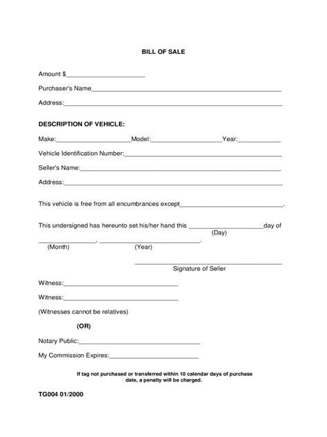 alabama bill  sale form  templates   word