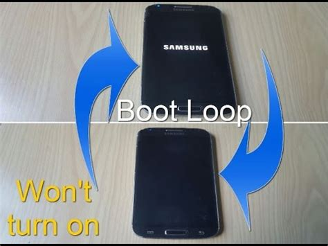 any samsung phone fix bootloop wont turn on or stuck on samsung logo