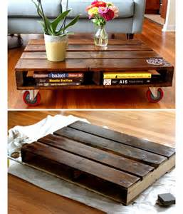 Home Decor Coffee Table Diy Pallet Coffee Table Diy Home Decor Ideas On A Budget