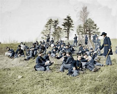 civil war pictures in color the civil war in color