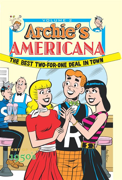 archie vol 2 archie americana hc vol 2 the 50s idw publishing