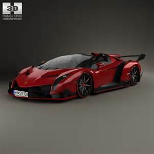 Custom Lamborghini Veneno Lamborghini Veneno Roadster 2014 3d Model For In