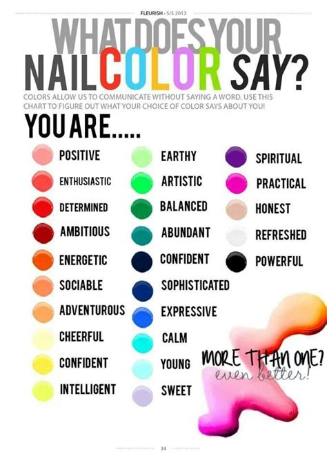 what does the colors what does your nail color say about you polished nail