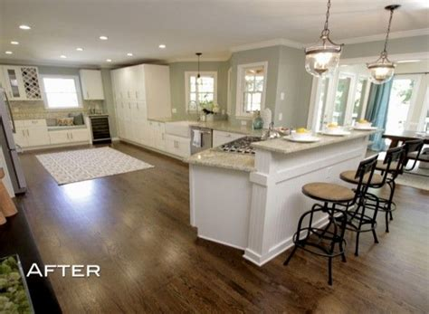 Small Open Floor Plan Kitchen Living Room season 4 episode 1 maria and dave the scott brothers