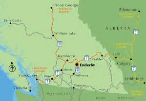 maps enderby bc canada