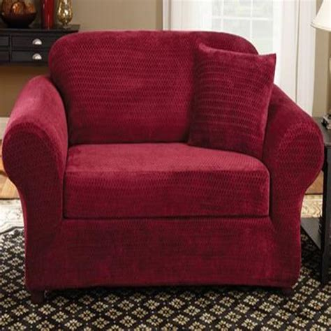 wine colored sofa sure fit stretch royal diamond wine burgundy two piece