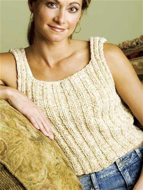 knit a tank top knitting sleeved sweaters easy tank top