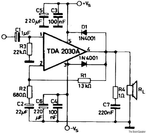 audio lifier circuit diagram with layout tda lifier circuits