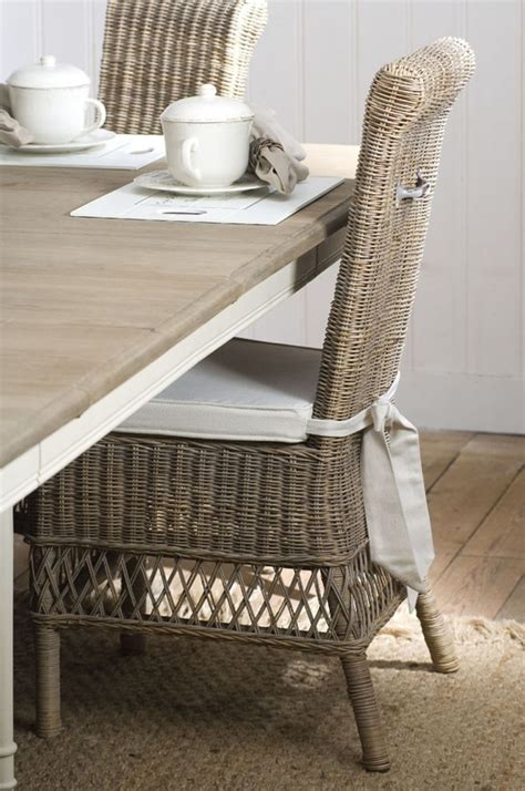 wicker chairs for dining room at home pinterest