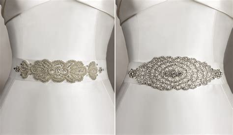 how to select wedding dress belts wedding and