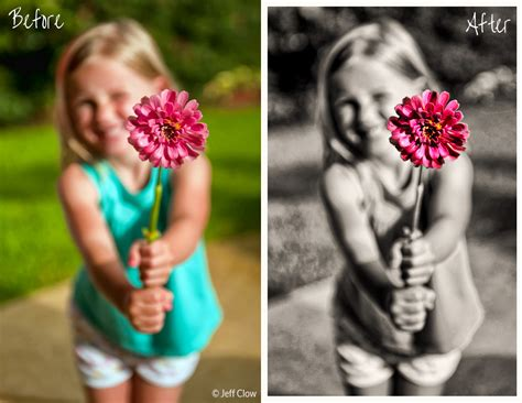 how to add color to a black and white photo how to add a splash of color to a black and white image