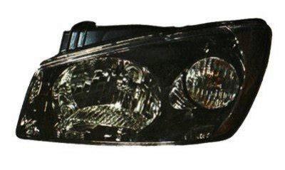 2006 Kia Spectra Headlight Replacement Kia Spectra Sedan 2004 2006 Left Driver Side Replacement