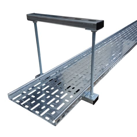 Wooden Tray 225mm 225mm cable tray ladder tier trapeze support bracket