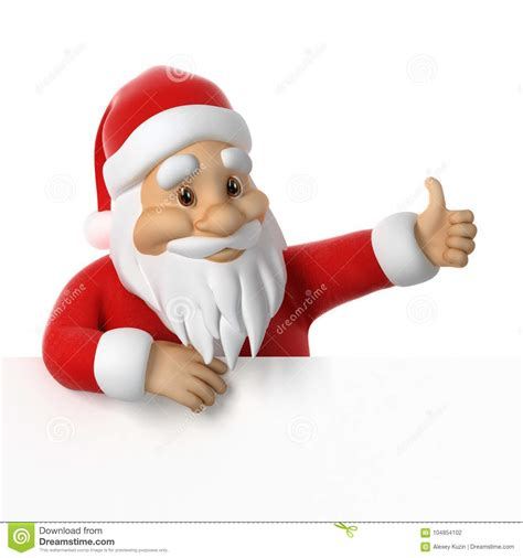 santa claus thumbs up santa claus giving thumb up stock illustration illustration of celebration finger 104854102