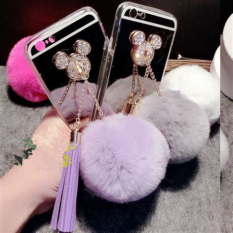 Choikawadeco Mouse Brings Bling To Balls by For Samsung J3 J5 J7 2016 2017 Prime Handmade Rhinestone