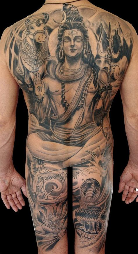 tattoo in body lord shiva remarkable full body tattoo spiritual