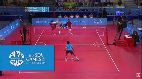 detiksport sea games 2015 sepaktakraw men s doubles finals day 10 28th sea games