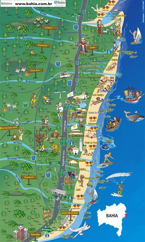 bahia costa dos coqueiros mapa da costa dos coqueiros bahia