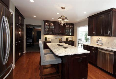 kitchens with dark brown cabinets dark brown kitchen cabinets startlr tech blog