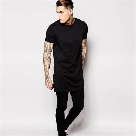 Teh Liong Tea us size hip hop cotton t shirt t shirt with side
