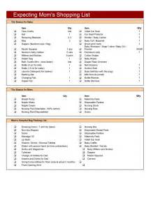 expecting mom checklist template free microsoft word