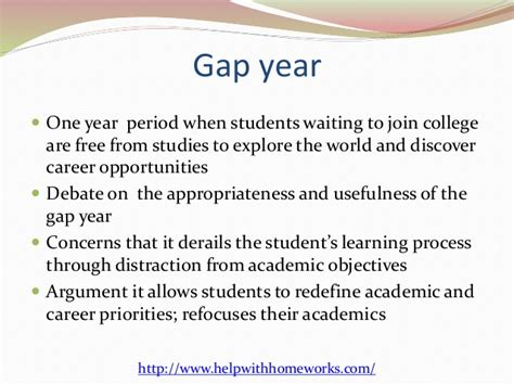 Gap Year Pros And Cons Essay by Taking A Gap Year Essay The Pros And Cons Of Taking A Gap Year Before College Patch