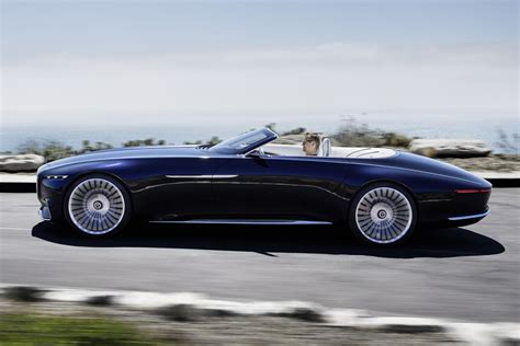 maybach mercedes coupe mercedes maybach vision 6 cabriolet concept infos et