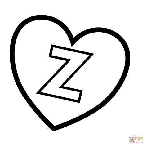 Z Search Letter Z In Coloring Page Free Printable Coloring Pages