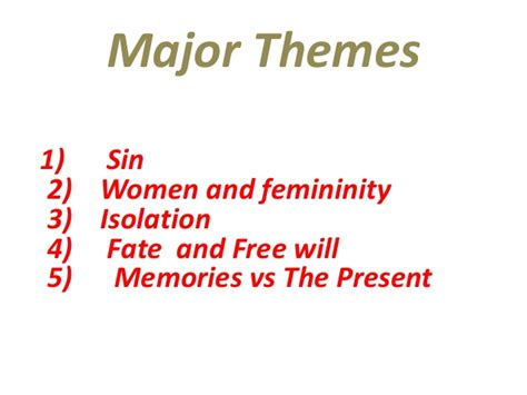 important themes of the scarlet letter the scarlet letter themes symbols