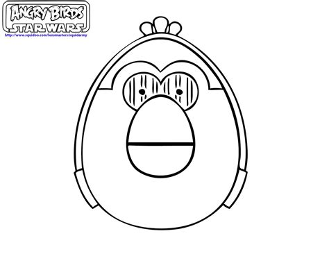 Angry Birds Coloring Pages Ii Squid Army Angry Bird Wars Coloring Page