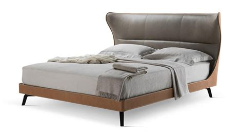 leather bed the mamy blue leather bed