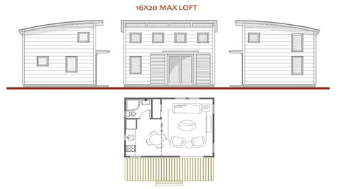 16x20 floor plans 16 x 20 house plans 16x20 cabin plan with loft 16 x 16