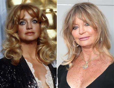 goldie hawn now photos movie star goldie hawn in 1980 and 2016 celebrities then