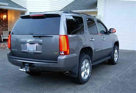 2004 tahoe lights 2007 escalade to 2007 tahoe taillight conversion