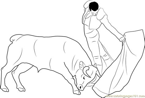 spain bullfighting coloring pages printable spain best