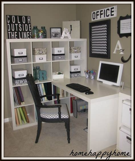white craft room furniture black and white organized craft room home office