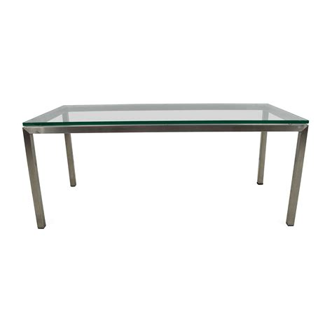 room and board glass coffee table santaconapp