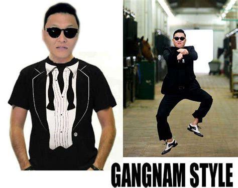 viral song shirts gangnam style shirt