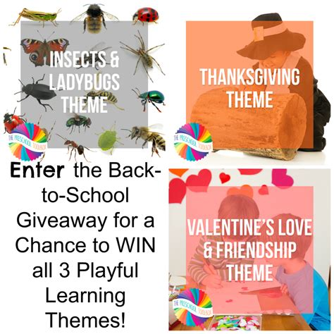 blog theme giveaway fall theme for preschoolers playful learning all season