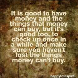Money doesn t buy happiness