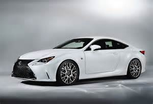 Lexus Rc Sport Lexus Rc 350 F Sport Revealed Gets Rear Wheel Steering
