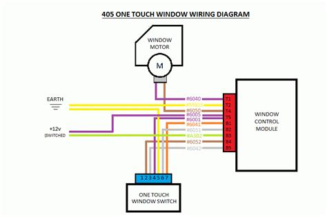 peugeot 306 electric window wiring diagram wiring